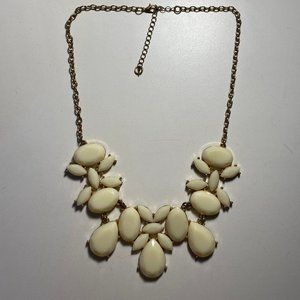 Nordstrom White Statement Necklace